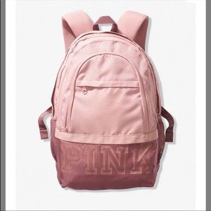 PRICE FIRM NEW PINK COLLEGIATE BACKPACK
